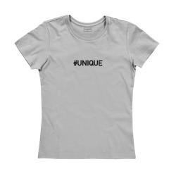 T-shirt femme gris : UNIQUE