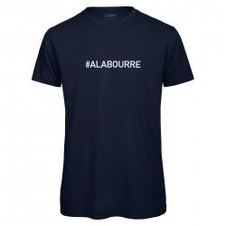 T-shirt hommebleu Navy A LA BOURRE