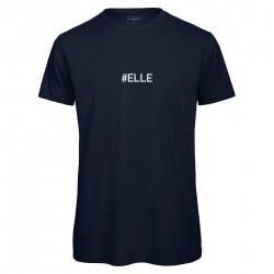 T-shirt homme bleu Navy ELLE