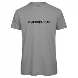 T-shirt hommegris CAP OU PAS CAP