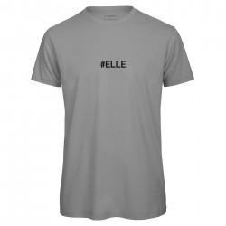 T-shirt homme gris ELLE