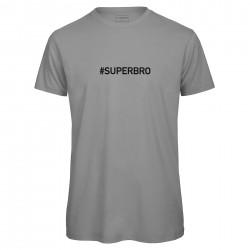 T-shirt hommegris SUPERBRO