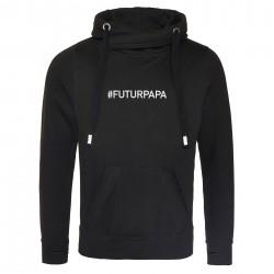 Sweat capuche premium FUTUR PAPA
