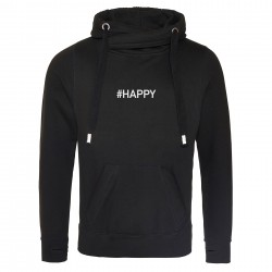 Sweat capuche premium HAPPY